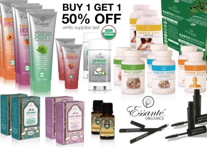 Is Essante Organics a Scam: Products