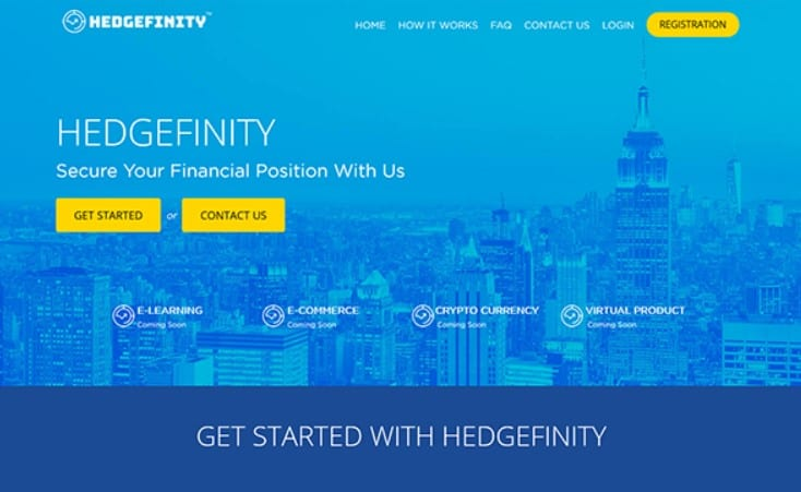 Is Hedgefinity a Pyramid Scheme: Products
