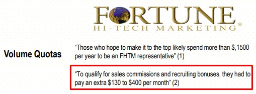 Is Fortune Hi-tech Marketing a Scam: Cons 2