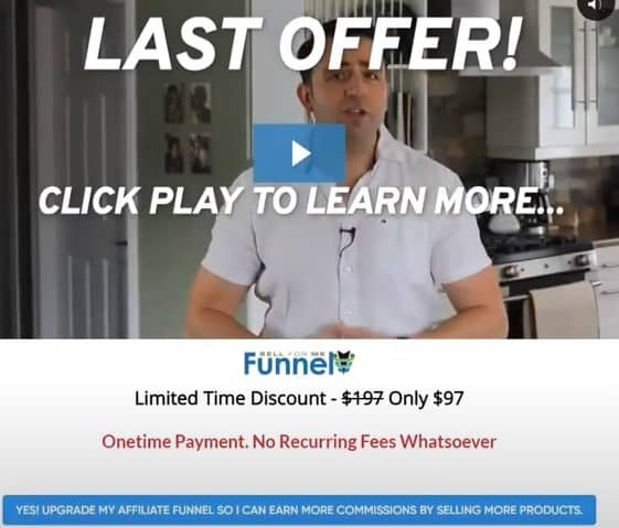 Sell For Me Funnel Review: Costs