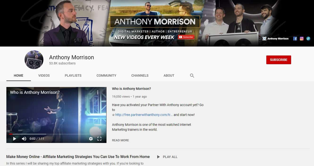 Anthony Morrison Review: Pros 2