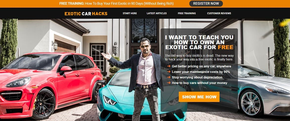 Is Exotic Car Hacks a Scam: Intro