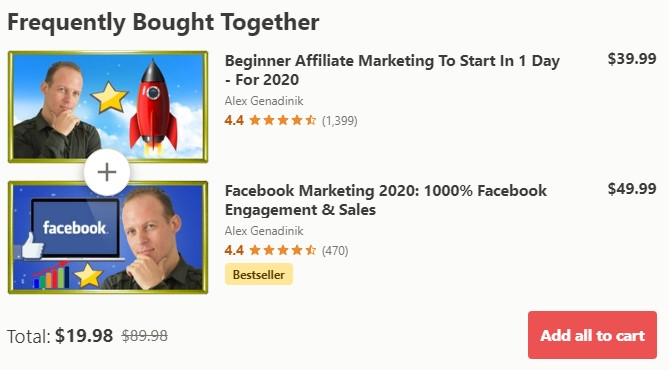 Udemy Affiliate Marketing in One Day Review: Pros 2