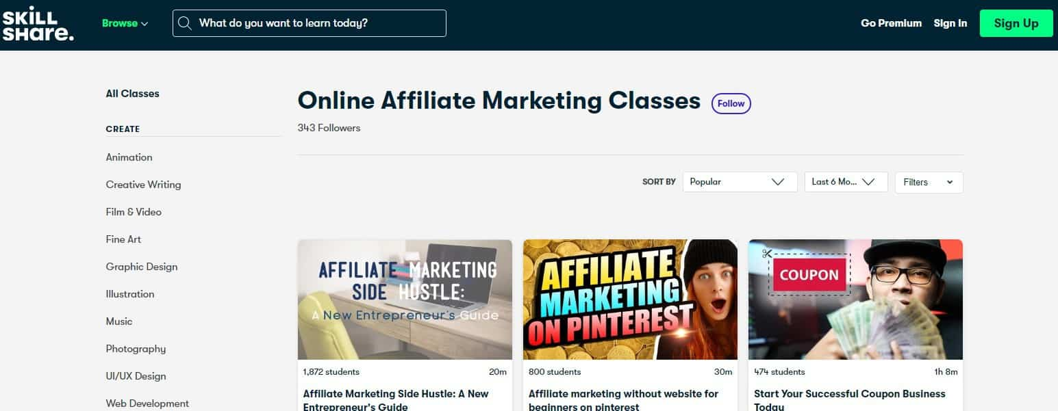 Skillshare Affiliate Marketing Course Review: Intro