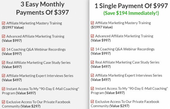 Stefan James Affiliate Marketing Mastery Review: Cons