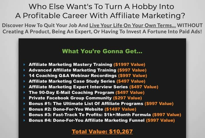 Stefan James Affiliate Marketing Mastery Review: Pros