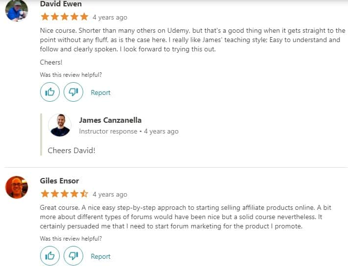 Udemy Clickbank Success Review: Pros 2