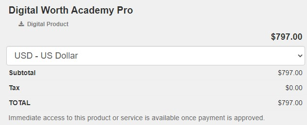Is Digital Worth Academy a Scam:  Cons