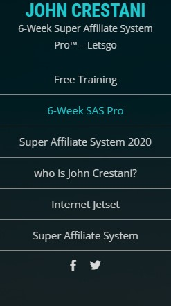 6 Week Super Affiliate System Pro Review: Cons