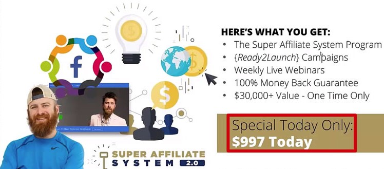 6 Week Super Affiliate System Pro Review: Costs