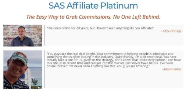 Is SAS Affiliate a Scam: Pros