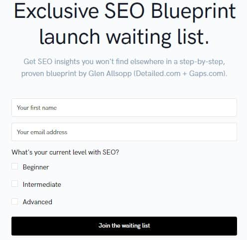 Is SEO Blueprint by Glen Allsopp a Scam: Costs