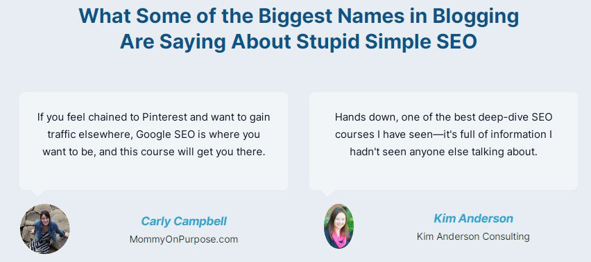Is Stupid Simple SEO a Scam: Pros