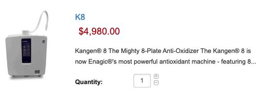 K8- $4,980