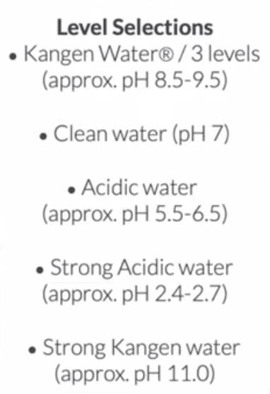 K8 Water pH levels