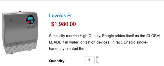 Leveluk R- $1,980