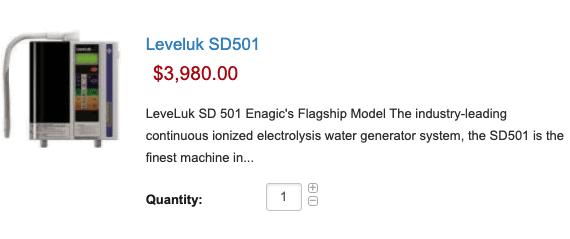 Leveluk SD501- $3980