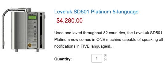 Leveluk SD501- $4,280